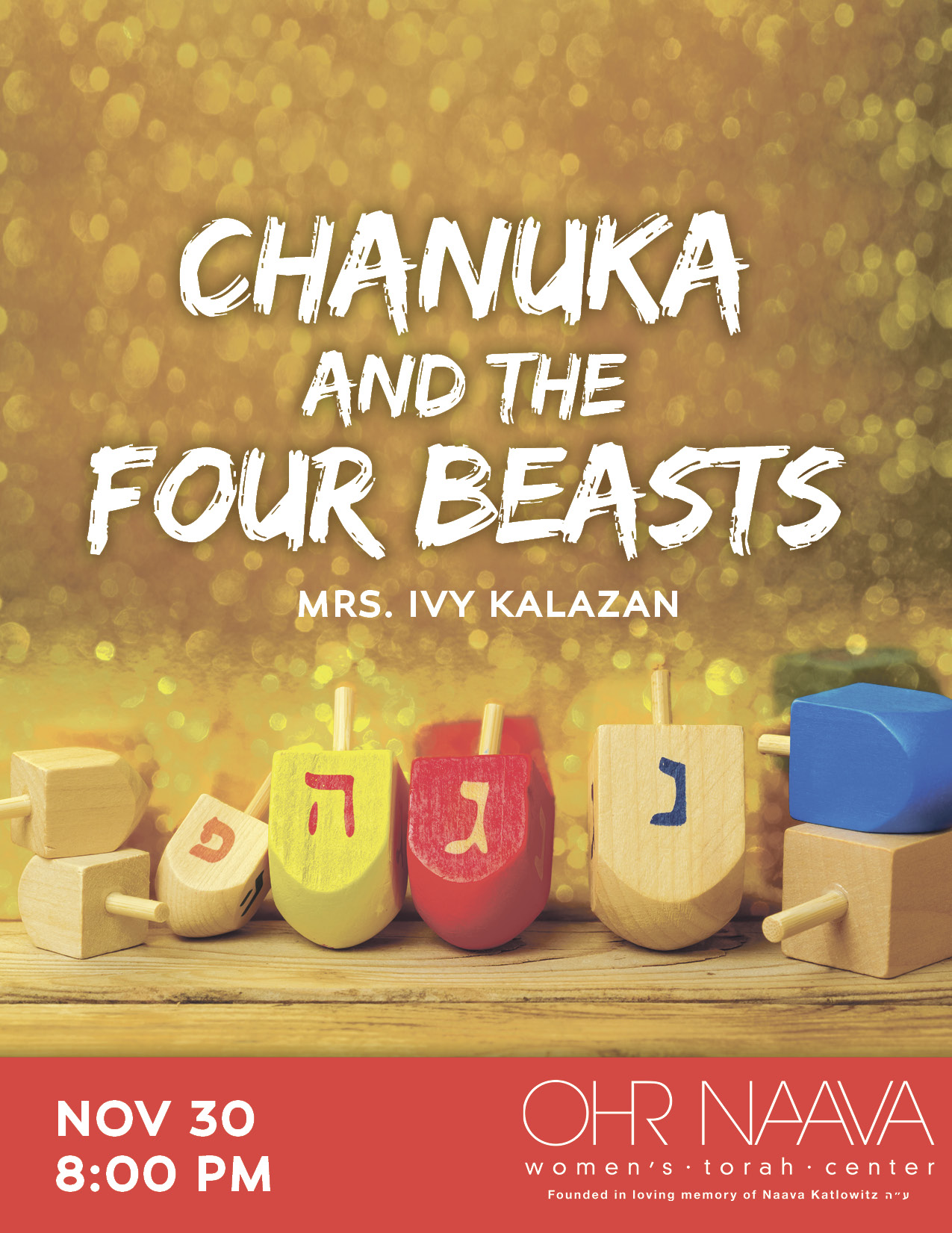 Chanuka and the Four Beasts