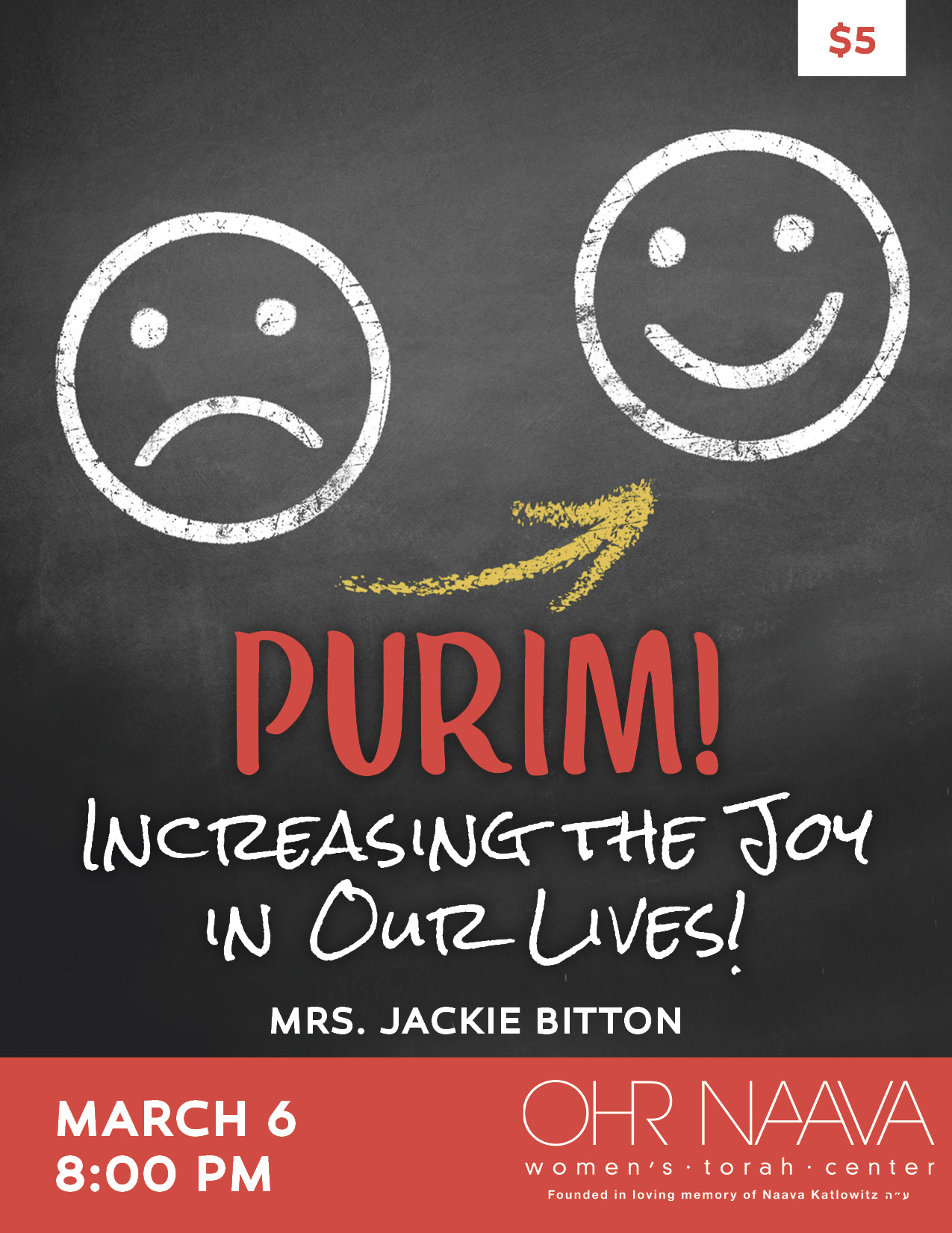 PURIM! Increasing the Joy in Our Lives!