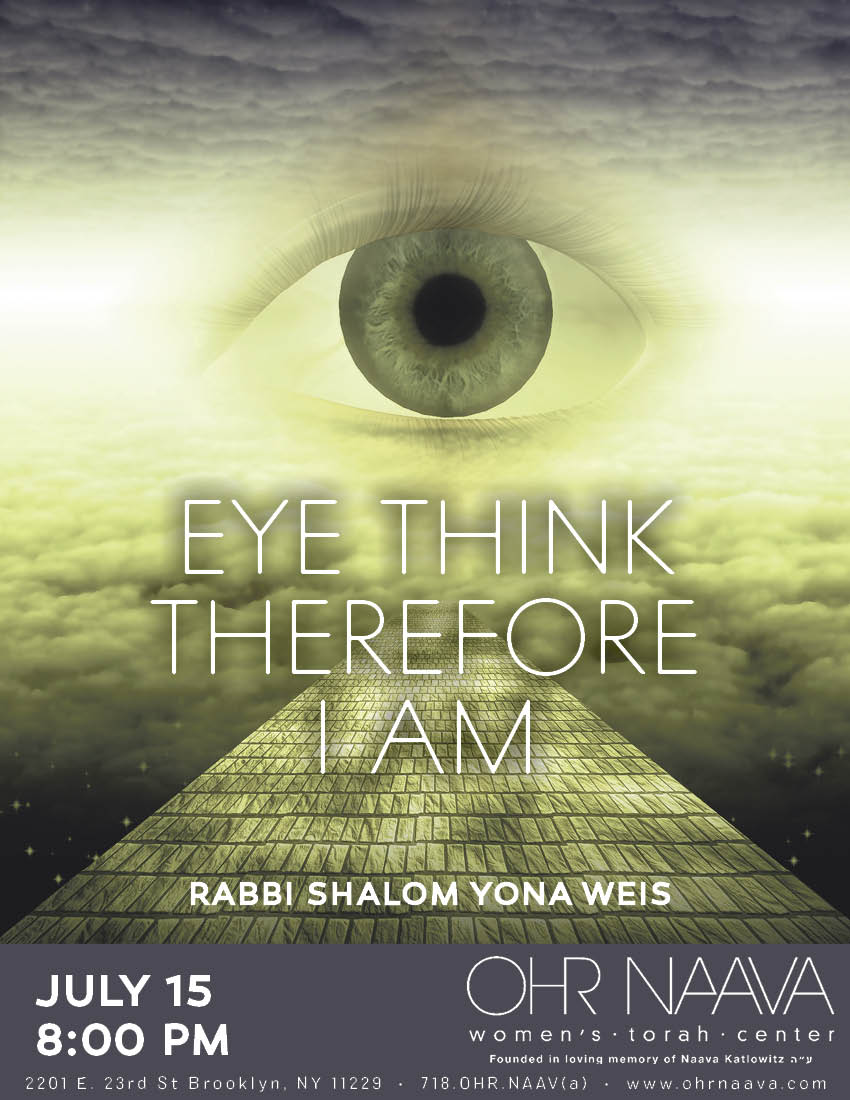 Eye Think Therefore I Am