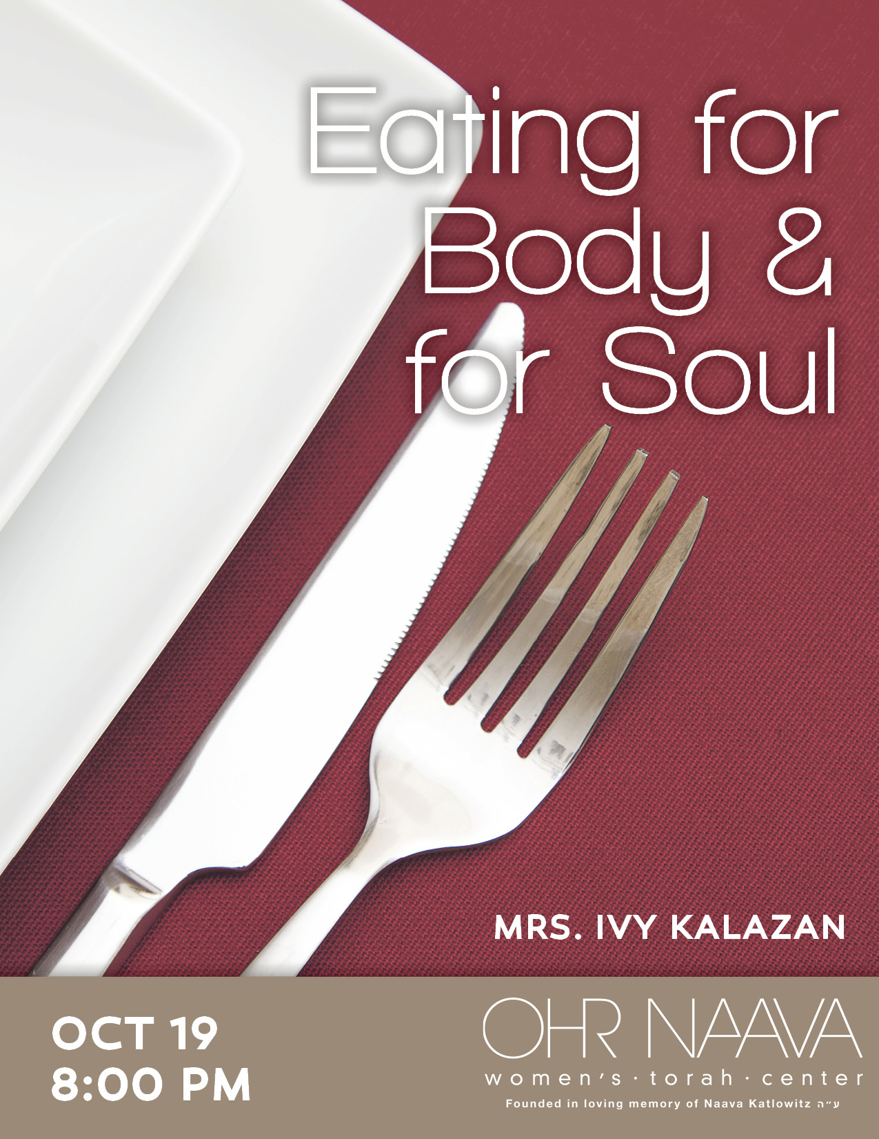 Eating for Body and for Soul