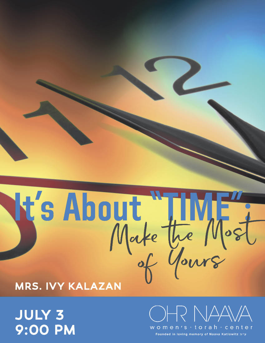 It�s About �TIME�:
