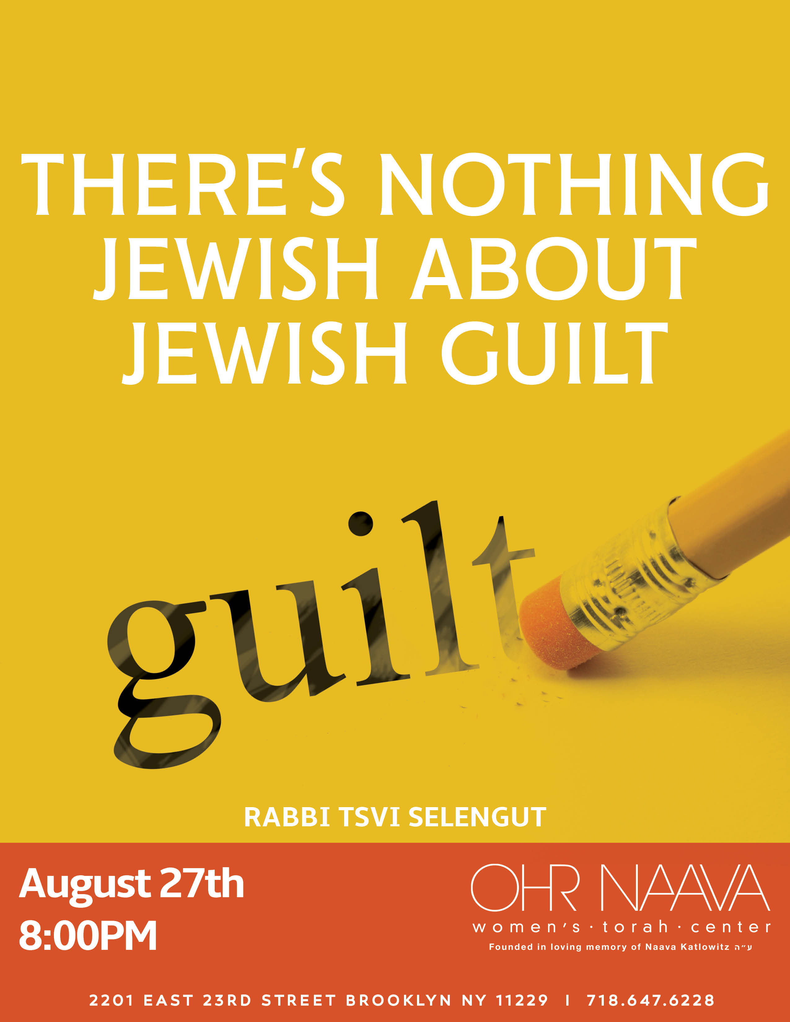 There�s Nothing Jewish About Jewish Guilt
