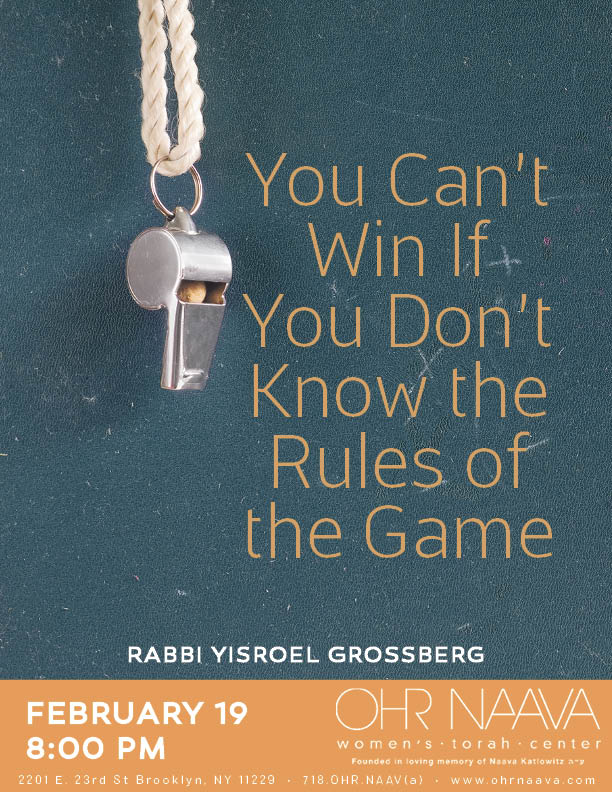 You Can�t Win If You Don�t Know the Rules of the Game