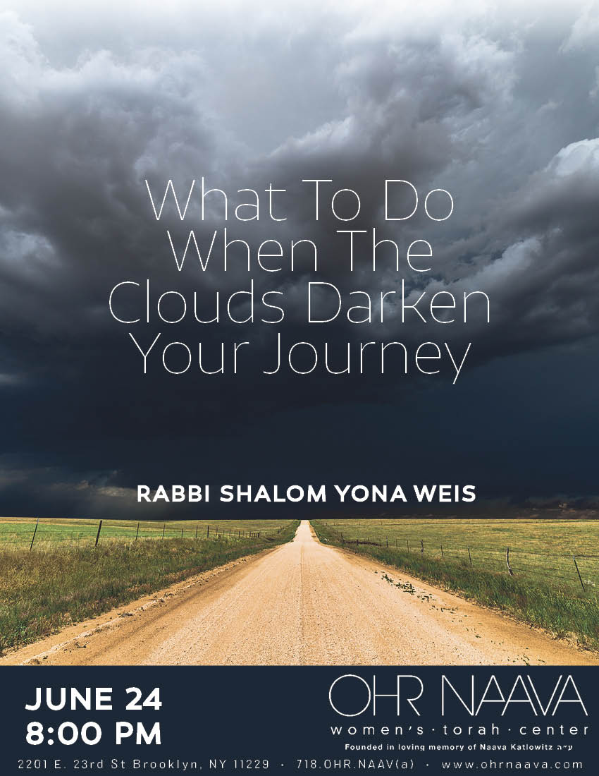 What To Do When The Clouds Darken Your Journey