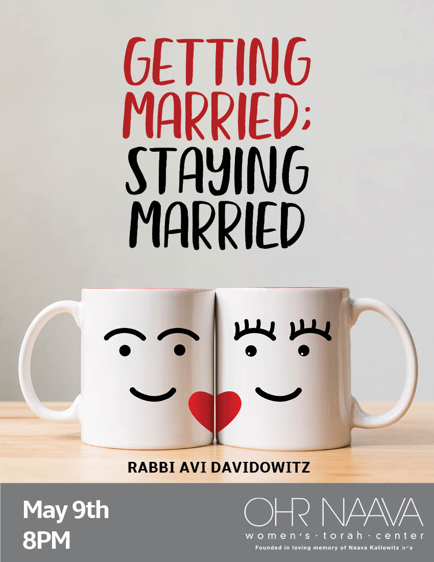 Getting Married; Staying Married